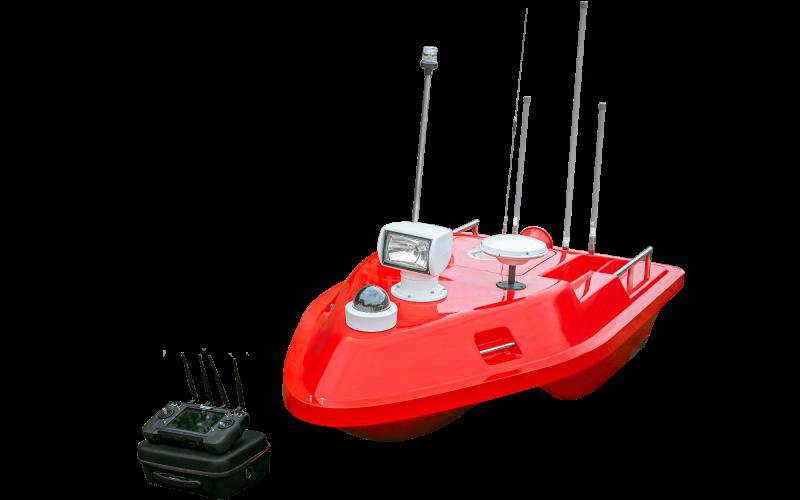 多功能水上救援无人船