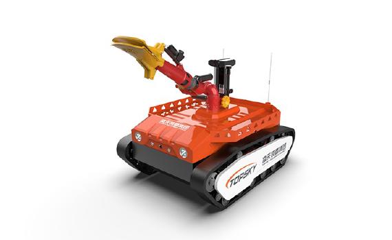防爆消防灭火侦察机器人