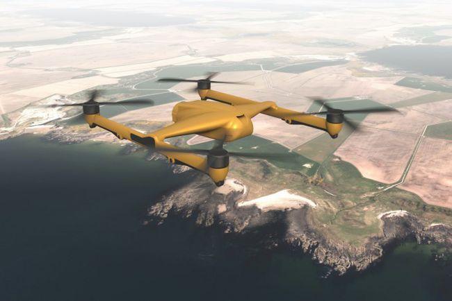 BAE系统可能会制造可携带300千克有效载荷的货运四旋翼无人机