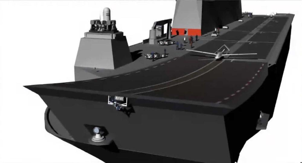 土耳其2022年将试飞新型无人机:能从两栖攻击舰甲板滑跑起飞降落