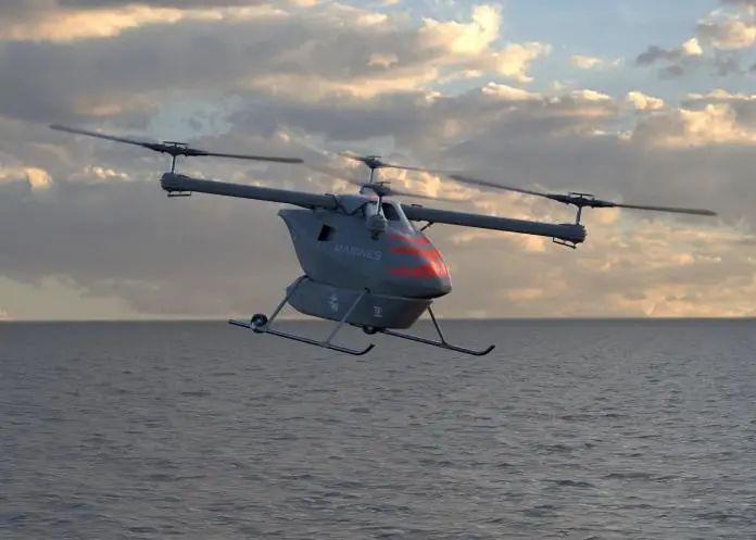 美企业新公布一款负载300公斤级物流无人机!