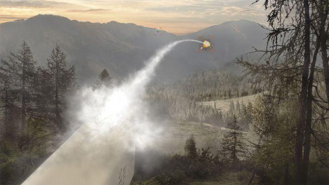 BAE系统公司使用激光制导火箭来击落无人机